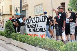 Comunicado manifestación 13 de julio FEAD