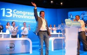 José Císcar, proclamado nuevo presidente provincial del PP