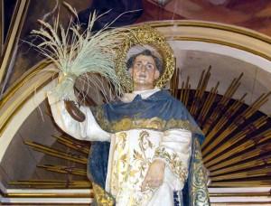La Fonteta festeja a San Luis Bertrán que saldrá en procesión con otras siete imágenes