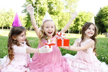 Fiesta infantil en el jardín