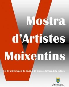 Moixent ofereix la 5a Mostra d'Artistes durant la setmana de Festes