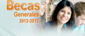 Solicitud de becas y ayudas al estudio de carácter general y de movilidad 2012-2013