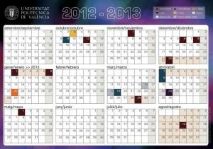 Calendario Etsa Upv.Calendario Upv 2012 2013
