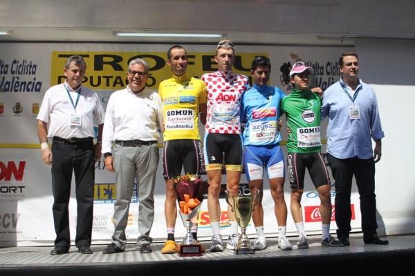 Carlos Oyarzun, vencedor absoluto de la Volta a la Província València-Trofeu Diputació