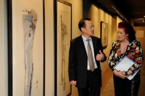 El IVAM muestra la caligrafía moderna china con obras de Gu Gan y Pu Lieping
