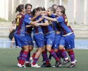 El Levante UD Femenino gana tres de tres y se coloca tercero en la tabla