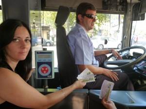 En el día sin coche los viajeros pagaron en el metro y utilizaron gratis la EMT