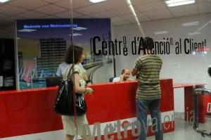 Metrovalencia dispone de trece oficinas de atención al cliente para informar a los viajeros sobre la red