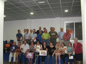 Patraix pide a los artistas valencianos apoyo para la gala benéfica en pro de Lorca