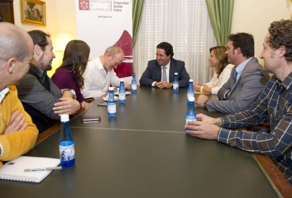 Javier Moliner y Vince Power se reúnen para comenzar a preparar tanto la organización como el próximo cartel del FIB 2013