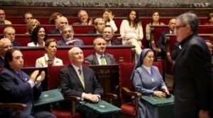 Jorge Cabré ha asistido al acto de entrega de Honores y Distinciones que se celebra en el marco de la festividad del 9 d'Octubre