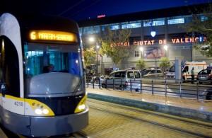 Metrovalencia refuerza el domingo su servicio de tranvía para facilitar el acceso al estadio Ciutat de València