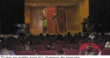 Teatro en inglés para alumnos de primaria de Vilamarxant