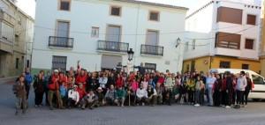 Bèlgida i Montitxelvo van acollir el passat cap de setmana les rutes de 'Senderisme a la Vall d'Albaida'