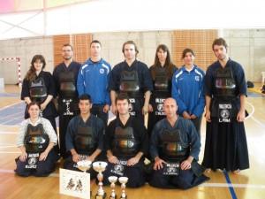 La selección masculina de Kendo de la Comunidad se proclama campeona de España