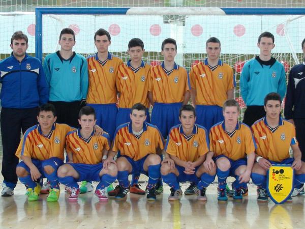 La selecci n valenciana sub 16 de f tbol sala se clasifica for Federacion de futbol sala