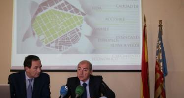 La reurbanización y adecuación de Russafa incrementarán la superficie peatonal