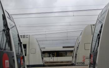 FGV concluye los trabajos para mejorar las condiciones de la catenaria de la Línea 1 de Metrovalencia en el tramo Carlet-Villanueva