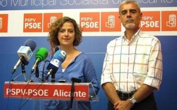 El PSPV de Alicante abre expediente disciplinario a los ediles Gabriel Moreno y Elena Martín