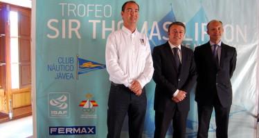 Presentación de la VII edición del Trofeo Sir Thomas Lipton de vela en Xàbia