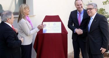 Fabra inaugura el nuevo Edificio Municipal de Educación y Bienestar Social de Moncada