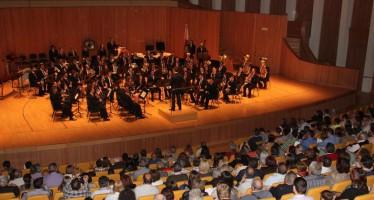 El Palau de Les Arts Reina Sofía ha acogido el concierto de la Societat Joventut Musical de Faura y de la Banda Sinfónica de la Unió Musical d'Alaquàs