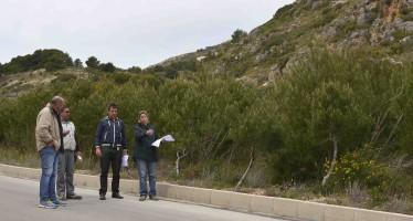 Se inician en El Poble Nou de Benitatxell  los trabajos para la creación de dos zonas de aparcamientos en las inmediaciones del Moraig