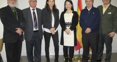 Marta Valsangiacomo se reúne con los Consejos Reguladores de las D.O. de la Comunitat y la presidenta de la feria Interwine