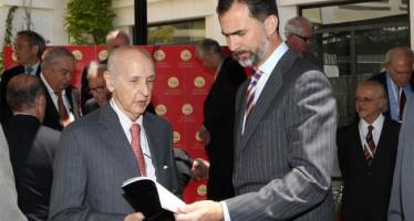 SM El Rey concede el título de Marqués de Grisolía, a Santiago Grisolía, Presidente Ejecutivo de los Premios Rey Jaime I