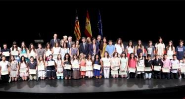 Català entrega los Premios Extraordinarios de Primaria a los 132 alumnos galardonados de la provincia de Castellón
