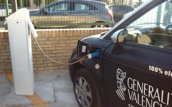 Ivace Energía subvencionará 168 puntos de recarga para vehículos eléctricos