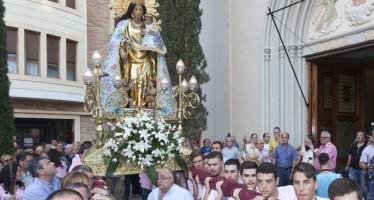 La imagen peregrina de la Virgen de los Desamparados visita este fin de semana L'Eliana y sus urbanizaciones