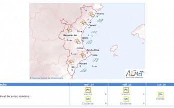 Nivel 3 de preemergencia por riesgo máximo de incendios forestales en Castellón