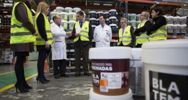 La primera 'Ecolabel' a la excelencia ecológica de la industria química española recae en Pinturas Blatem