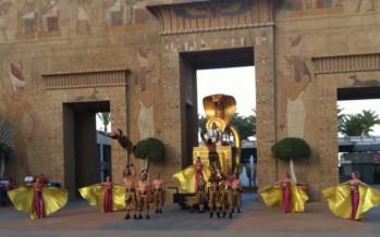 Cleopatra, el show estrella de Terra Mítica, se estrena con una fuerte ovación del público