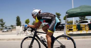 El ciclista valenciano Carles Nebot consigue en Sagunto el récord del mundo 24 horas ultrafondo