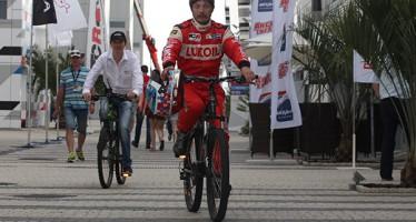 Aleksey Dudukalo, 'Hombre de la Carrera' en Sochi