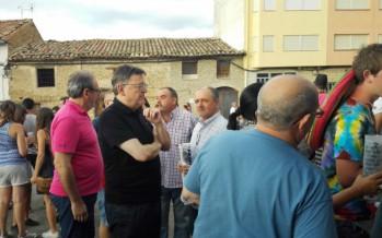 El President Puig participa en la 37 edición de l' Aplec dels Ports en Cinctorres