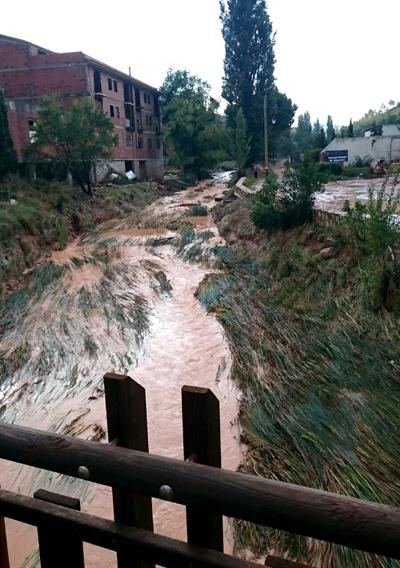 Río Bohilgues, Ademuz.