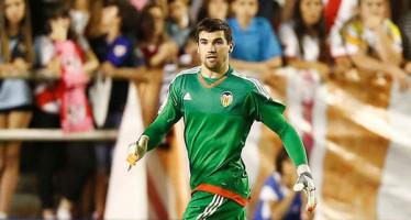 El portero del Valencia CF, Mathew Ryan, se rompe el menisco