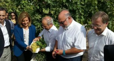 Rodríguez Mulero: 'El Consell trabajará para garantizar el agua a los agricultores alicantinos de manera sostenible'