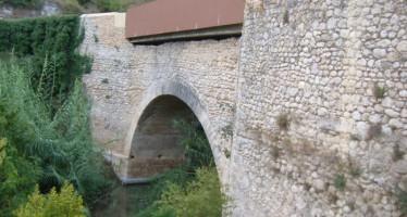 Ontinyent retoma la restauración del Puente de la Costa con la ayuda de la Diputación