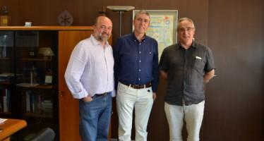 El conseller Climent se reúne con el presidente de Slow Food Valencia