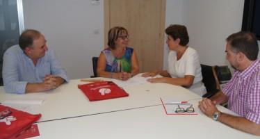 La Diputación continuará respaldando el fomento empresarial de la Cámara de Comercio