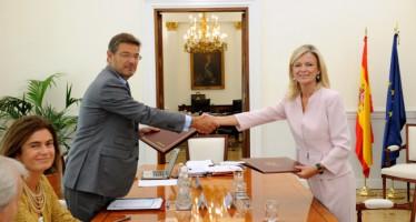 Se firma el acuerdo con Catalá para invertir 860.000 euros en la mejora de la Justicia valenciana