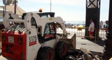 Empiezan en Benidorm las obras de mejora y adecuación del Paseo de Levante