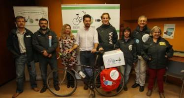 Marcha en Bicicleta Valencia-París contra el cambio climático