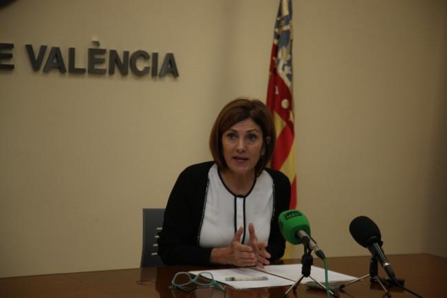 La concejala de Deportes del Ayuntamiento de Valencia, Maite Girau.