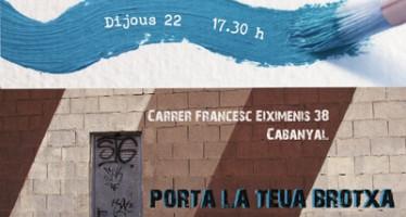 El vecindario de El Cabanyal celebrará una pintada simbólica en una de las zonas más degradadas del barrio