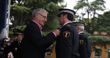 Ribó preside el acto central del Día de la Policía Local de Valencia